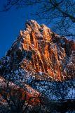 Snowy Watchman Peak