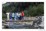 Alberg de Planoles. Excursió fí de curs 8è CEIP JAUME I de la Sénia. Curs 86-87