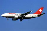 SWISSAIR AIRBUS A310 300 ZRH RF 1299 24
