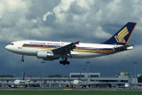 SINGAPORE AIRLINES AIRBUS A310 200 SIN RF 1413 23