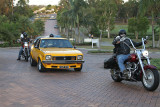 74 SLR Torana and Harley Escorts