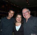 Cesar, Amy & Dan