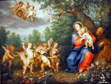 Holy Family with Infant St. John the Baptist, 1730-1740