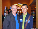 Dan and Cesar at South Point Casino
