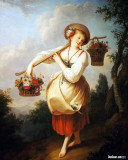 The Flower Girl, 1758-1781