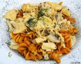 Huhnerchampignonsauce on Pasta Box