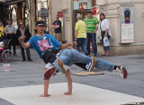 Street Performers in Vienna