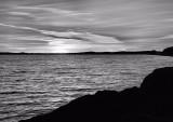 DSC04330 - B&W Sunset