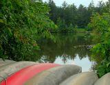 Canoes At Kingswood Lake