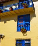 Ventana y Barandal en Cusco