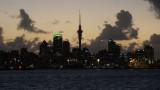 Dusk over Auckland