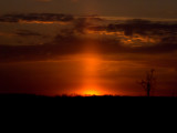 Cold Winter Sunset-Shirley