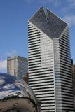 Stone Container Building & Cloudscape Millenium Park
