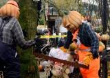 Halloween Crime Scene