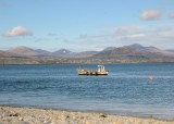 The Mournes from Greenore