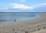 Stoney beach, Greenore