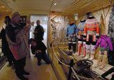 Inside Aasiaat museum