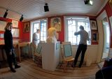 Inside the Rassmussen museum in Ilulissat