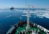 The Icebreaker ship arrives