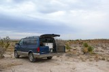 Camping on BLM land outside of Carlsbad Caverns NP