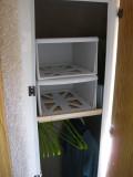 Shelved the closet