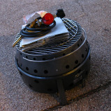 Volcano propane/charcoal/wood grill/cooker/oven