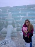 Saranac Lake ice castle 2013