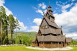 Torpo stave church, near Ål