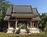 Old Thai pavilion, side