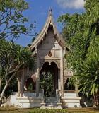 Old Thai pavilion, back