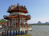 Chinese water pavilion
