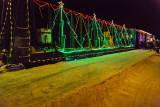 Christmas train in Moosonee 2012 December 18th