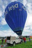 Hottolfiades 2006 - Vol du soir du samedi 26/08 - Hot air balloons meeting in Belgium