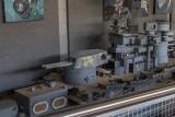 Battleship model from Pearl Harbor