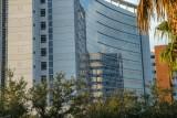 Reflection off Florida Hospital