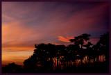 Lands End at sunset.