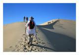 Dune hike, Death Valley N.P.