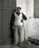 Street sweeper,  Rhodes  1956