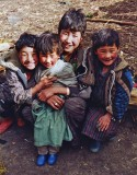 Children, Bumthang