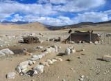 Nomads' tent, Rupshu