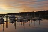 Dawn in Southwest harbor
