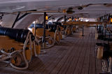 On the gun deck