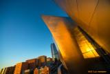 Walt Disney Concert Hall at Sunrise