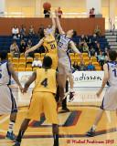 Queen's vs Ryerson M-Basketball 01-06-13