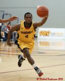 Queen's vs Carleton M-Basketball 02-01-13