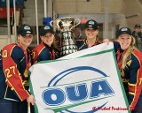 Queen's vs Western Women's OUA Hockey Championship 01-01-13
