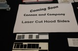 Cannon and Company Laser Cut Hood Sides