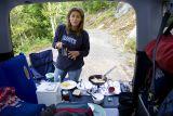 honda element  camping