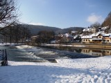 Jizera River and Winter...