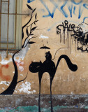 Listen Bird and other Graffiti Art